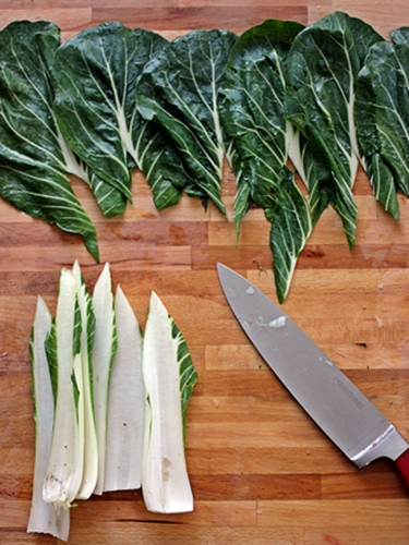 Stuffed Bok Choy