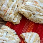 Orange Carrot Cake Scones With Pineapple and Coconut!