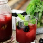 Blackberry Lemonade Mojito