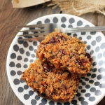 Maple Carrot Quinoa Cakes