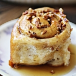 Pecan Sticky Rolls With Maple Bourbon Glaze