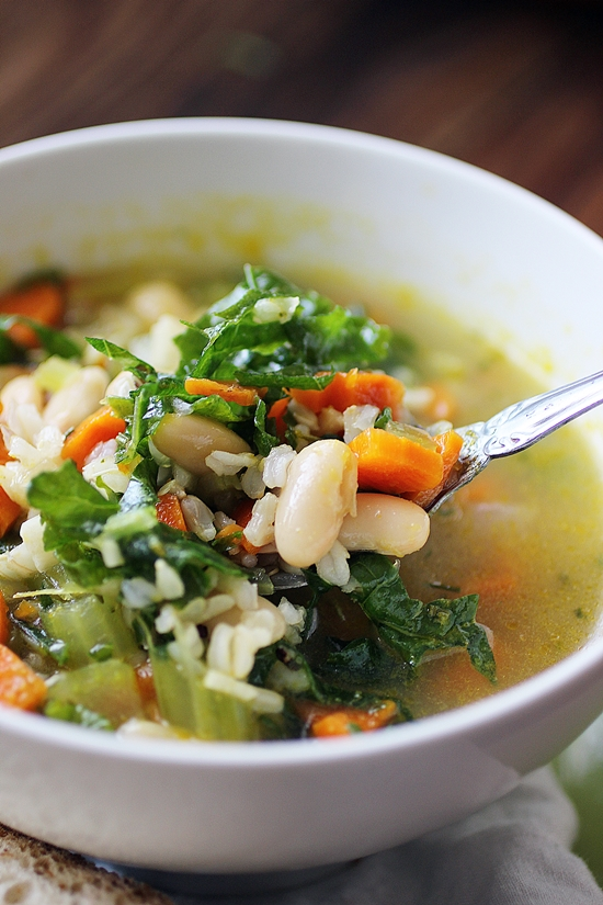 White bean and rice vegetable soup dora 39 s daily dish - Moulinex my daily soup ...