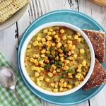 Sweet and Smoky Corn and Potato Chowder