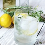 Rosemary and Lemon Vodka Fizz