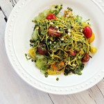 Zucchini Noodles with Fresh Pesto