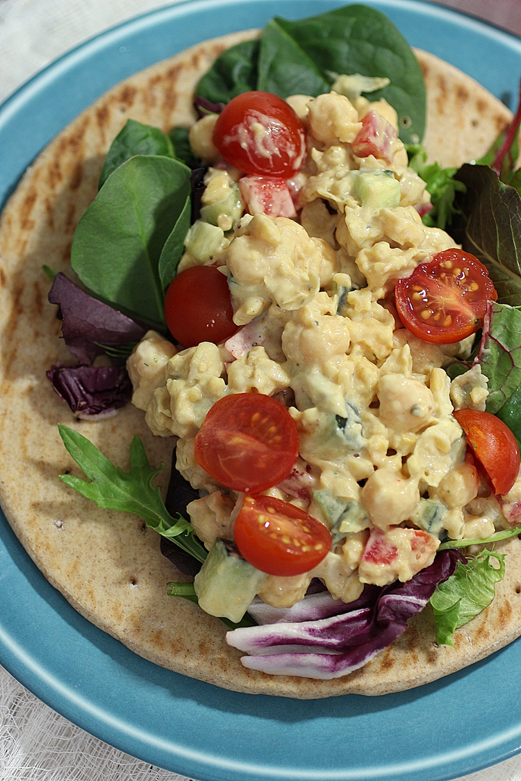 Vegan Chickpea Salad Sandwich Recipe!