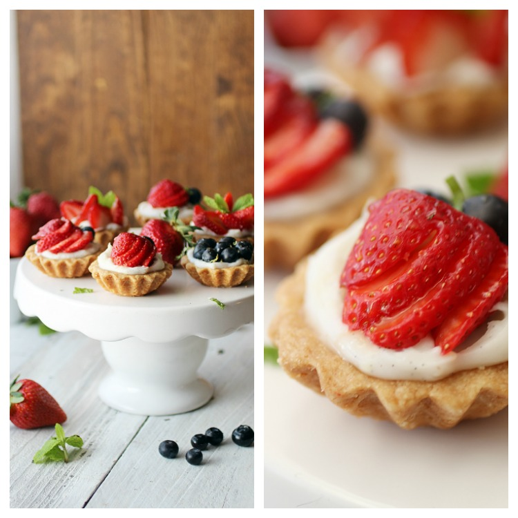 Fresh Berry Fruit Tarts