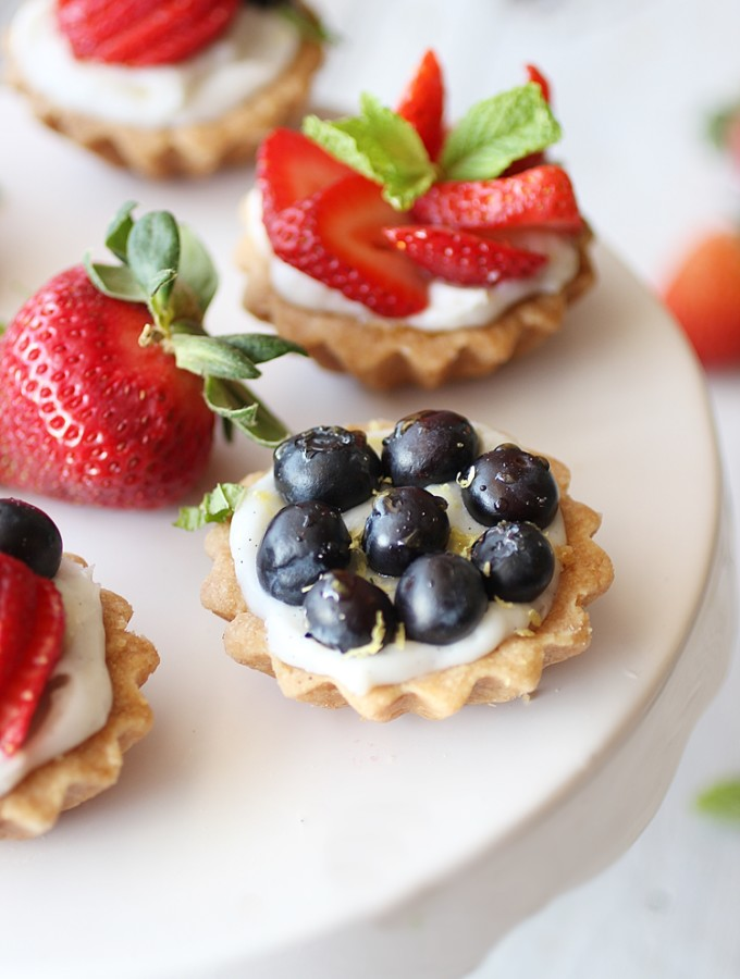 Fresh Berry Fruit Tart