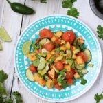 Sweet and Spicy Melon Salad