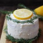 Vegan Rosemary Lemon Cake